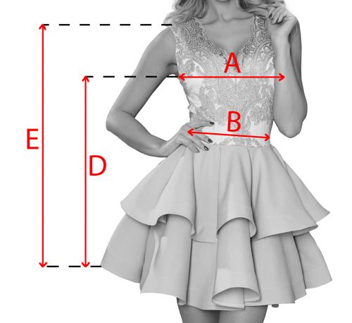 béžové krátke spoločenské šaty